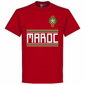 Morocco Team Tee - Red
