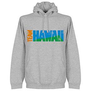Team Hawaii Hoodie  - Grey