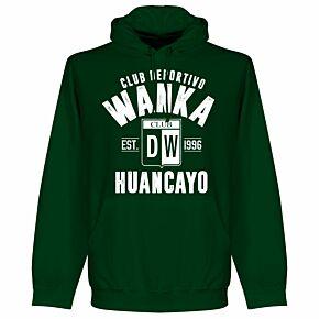 Deportivo Wanka Established Hoodie - Bottle Green