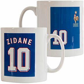 Zinedine Zidane 1998 France Mug