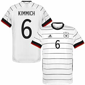20-21 Germany Home Shirt + Kimmich 6