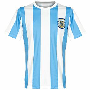 1986 Argentina Home Retro Shirt