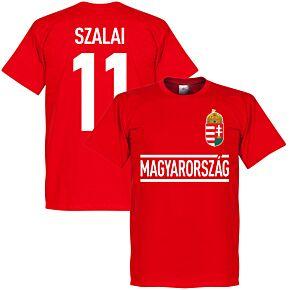 Hungary Szalai Team Tee - Red