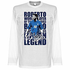 Baggio Legend L/S Tee - White