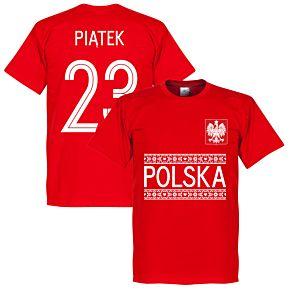 Poland Piatek 23 Team Tee - Red