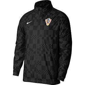 20-21 Croatia AWF Lightweight Jacket - Black