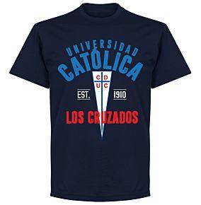 Universidad Catolica Established T-Shirt - Navy