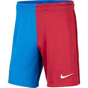 21-22 Barcelona Home Shorts