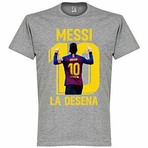 Messi La Desena Tee - Grey
