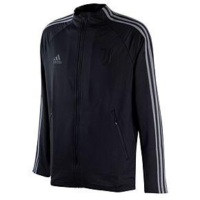 20-21 Juventus Anthem Jacket - Black