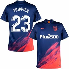 21-22 Atletico Madrid Away Shirt + Trippier 23 (Official Printing)