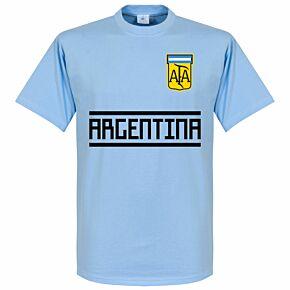Argentina Team Tee - Sky