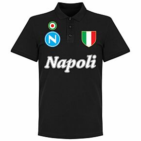 Napoli Team Polo - Black