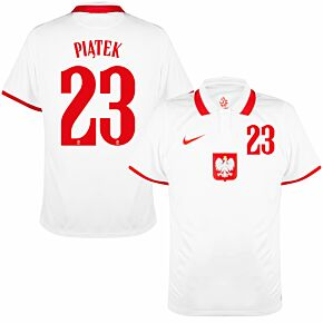 20-21 Poland Home Shirt + Piatek 23 (Official Printing)