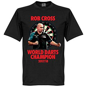 World Darts Champion Tee - Black