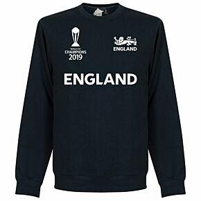 England Cricket World Cup  Winners Sweatshirt - Navy