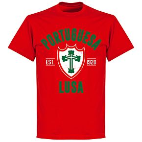Portuguesa Established T-Shirt - Red