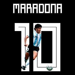 Maradona 10 (Gallery Style)