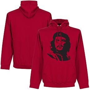 Che Guevara Silhoutte Hoodie - Red