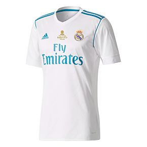 Real Madrid Home Jersey 2017 / 2018 + Ballon d'Or Transfer