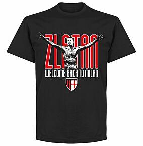 Zlatan Welcome Back T-Shirt - Black