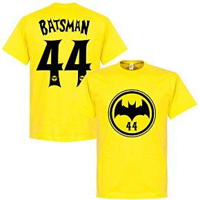 Batsman 44 Tee - Yellow