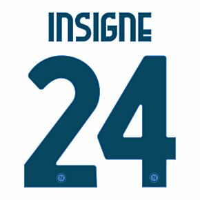 Insigne 24 (Official Printing) 20-21 Napoli Away