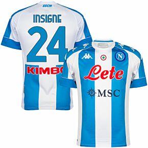 2021 Napoli 4th Pro Shirt + Insigne 24 (Fan Style Printing)