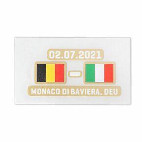 Official Euro 2020 Quarter-Final Matchday Transfer Italy v Belgium 02.07.2021 (Italy Home)