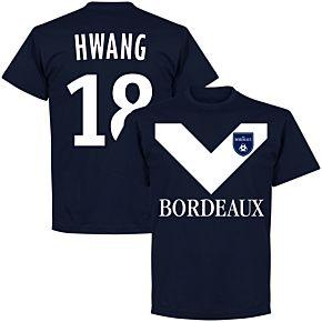 Bordeaux Hwang 18 Team Tee - Navy