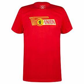 FC Union Berlin Logo T-Shirt - Red