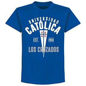 Universidad Catolica Established T-Shirt - Royal