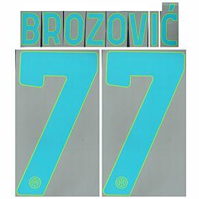 Brozović 77 (Official Printing) - 21-22 Inter Milan 3rd