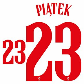Piatek 23 (Official Printing) - 20-21 Poland Home