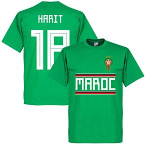 Morocco Harit 18 Team Tee - Green