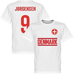 Denmark Jørgensen 9 Team Tee - White