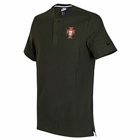20-21 Portugal Grand Slam Polo - Dark Olive