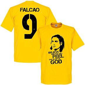 Colombia Falcao Tee - Yellow