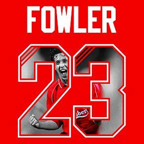 Fowler 23 - 1994 Retro Gallery Style Printing Set