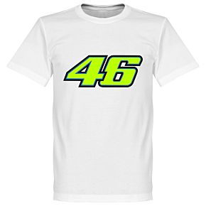 Rossi No. 46 Tee - White