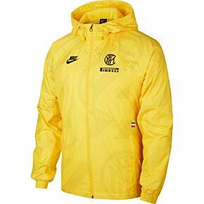 2019-20 Inter x Pirelli Allweather Jacket - Yellow