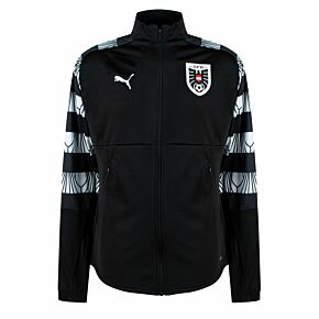 20-21 Austria Stadium Jacket - Black