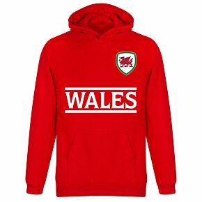 Wales Team KIDS Hoodie - Red