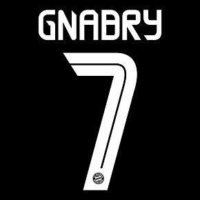 Gnabry 7 (Official Printing) - 20-21 Bayern Munich 3rd C/L