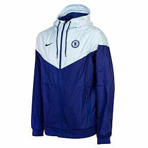 20-21 Chelsea Authentic Winderunner Jacket - Royal/Sky