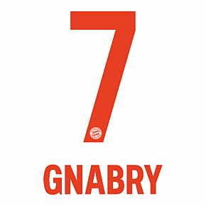 Gnabry 7 (Official Printing) - 20-21 Bayern Munich Away