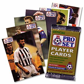 91-92 Football League Players Cards - Part 1