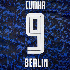 Cunha 9 (Official Printing) - 20-21 Hertha Berlin Away
