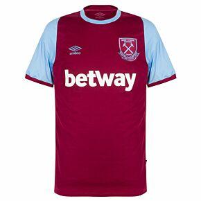 20-21 West Ham Home Shirt