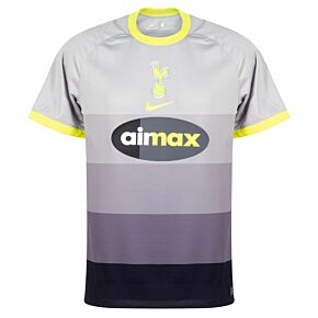 2021 Tottenham Breathe Airmax Shirt - Grey/Yellow